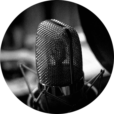 自分の歌を録音する