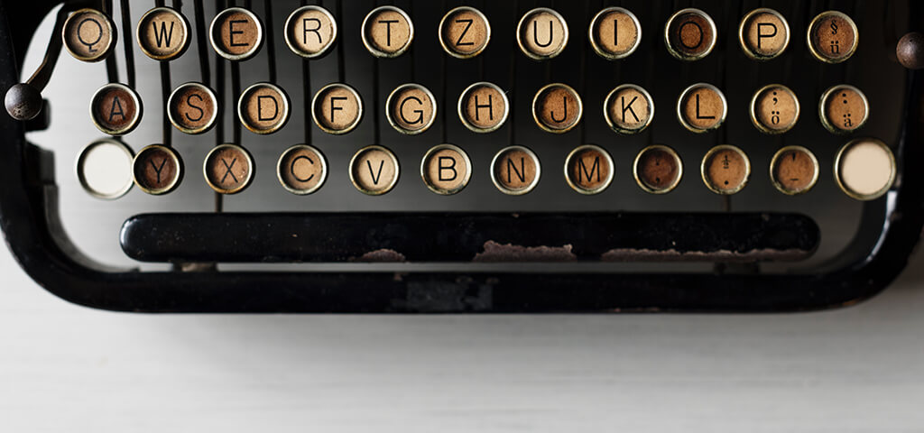 タイプライター音源のアイキャッチ画像