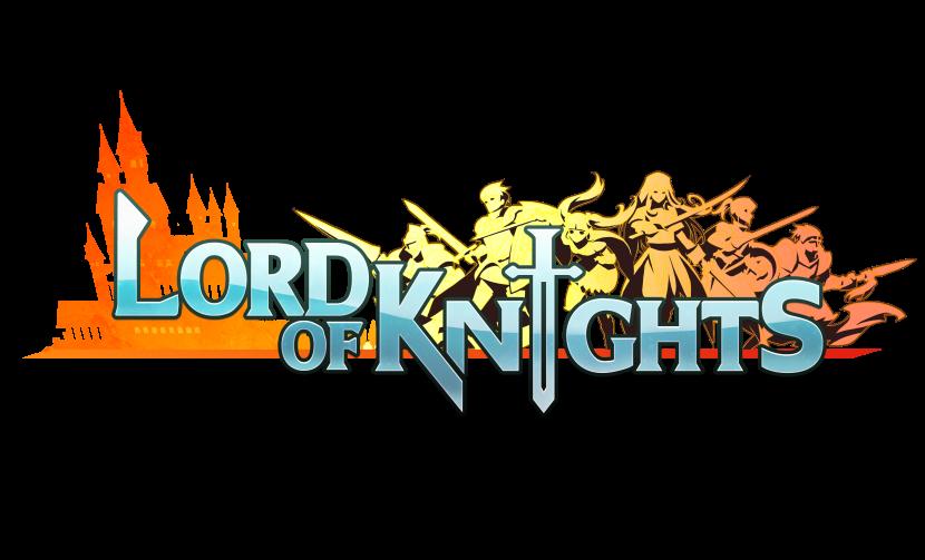 Lord of Knights(ロードオブナイツ) のロゴ画像です